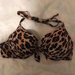 Cheetah swimsuit top